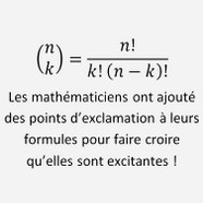 blague maths
