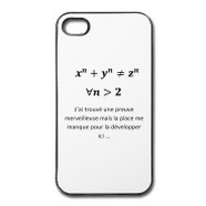 coque I Phone 4 4S humour maths